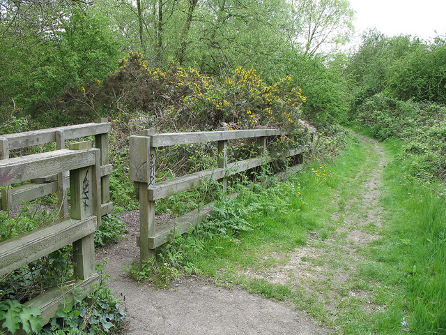 Footpath on the Glebeland
