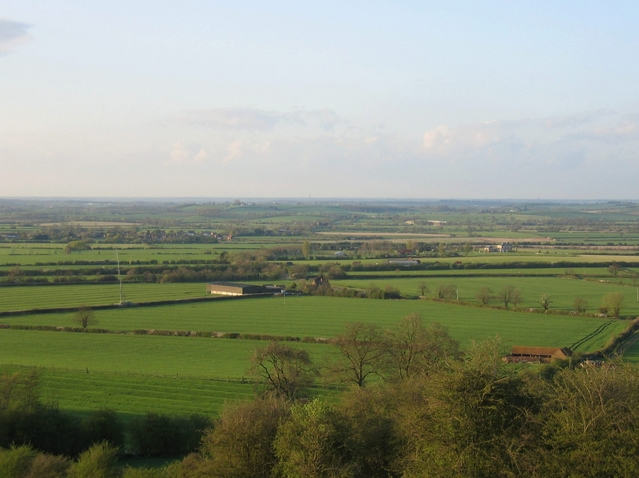 View north from the Burton Hills