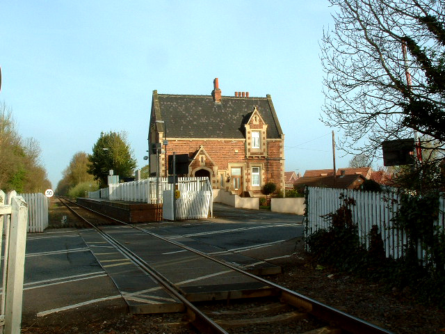 Rawcliffe Nr Goole Station and Station Masters House
