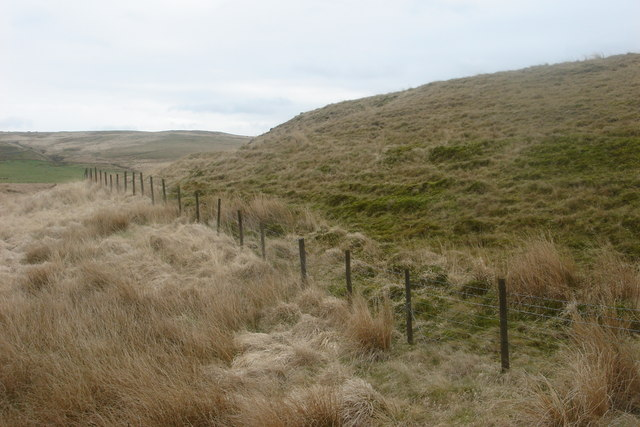 The slope of Old Mans Hill