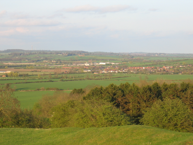 View east from the Burton Hills