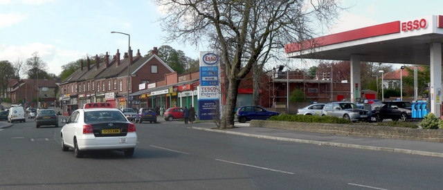 Esso and Tesco Express, Harrogate Road, Chapel Allerton