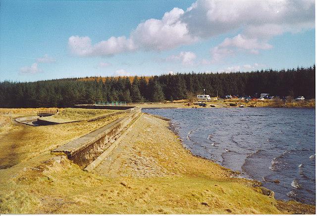 Loch Glow Dam