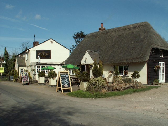 'The Spotted Dog' public house, Bishop's Green, Essex