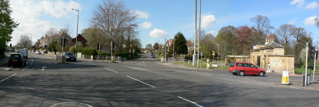 Junction of Harrogate Road and Harehills Lane, Chapel Allerton