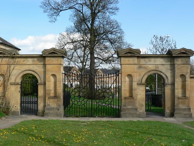 Gates of former Chapel Allerton Hospital