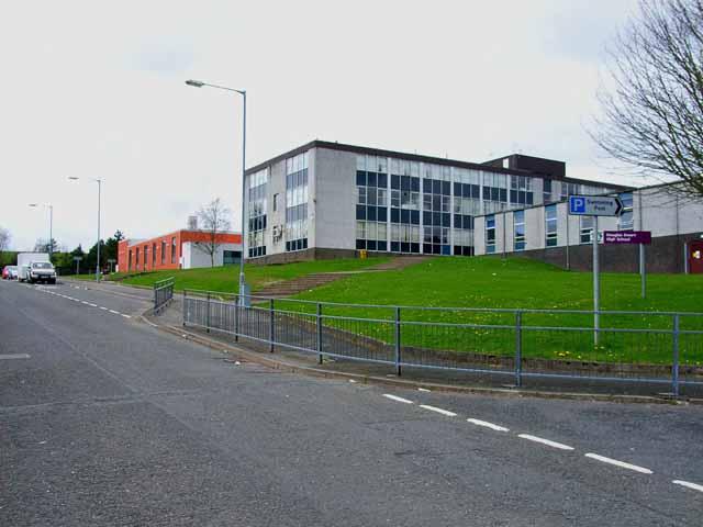 Douglas Ewart High School and Merrick Leisure Centre, Newton Stewart