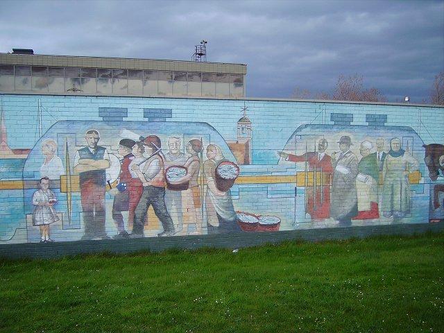 Mural, Cockenzie power station