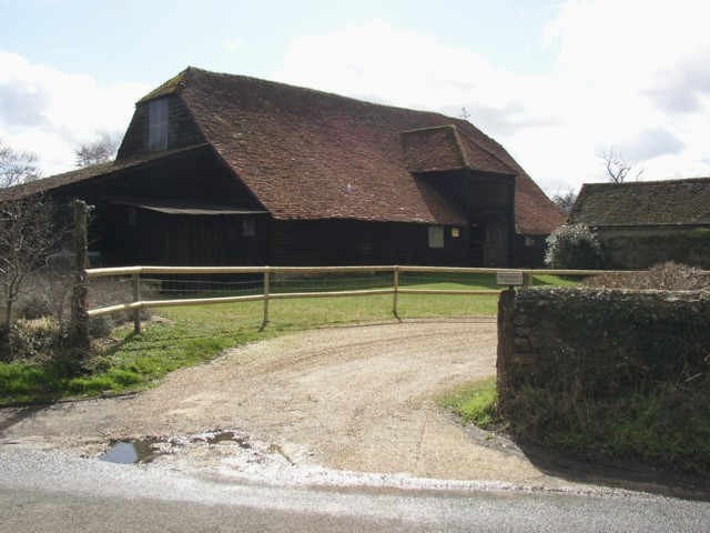 Barn at Somerset Farm, Peper Harow