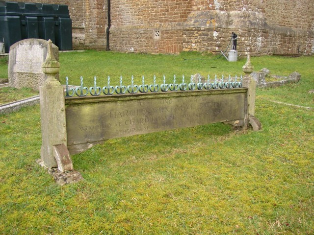 Grave at St Mary's Church, Norney,  Shackleford