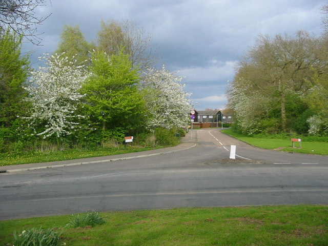 Housing Estate Near Bretton