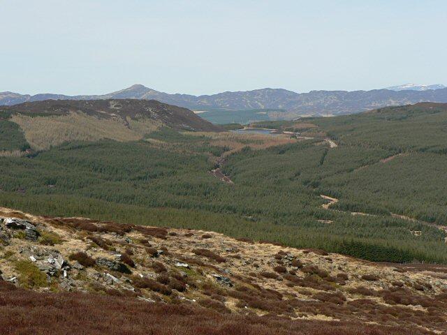 Meall Dearg hillside