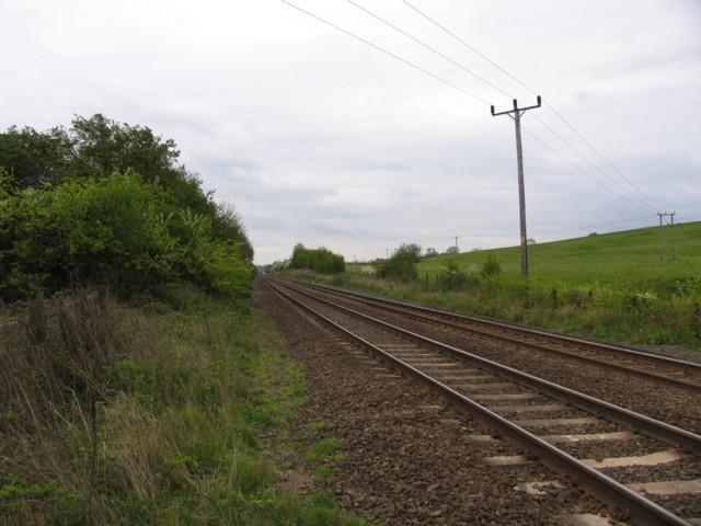 Oakham to Stamford railway