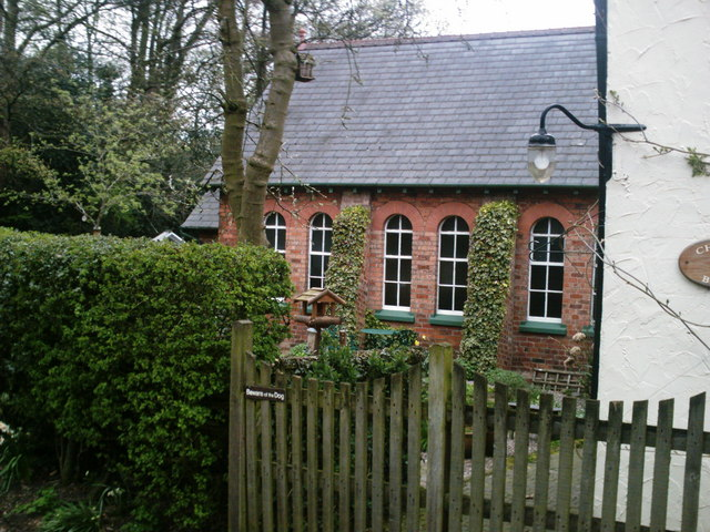 Cuddington Methodist Church, Side View