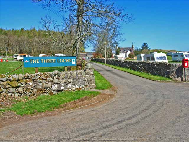 Three Lochs Caravan Park