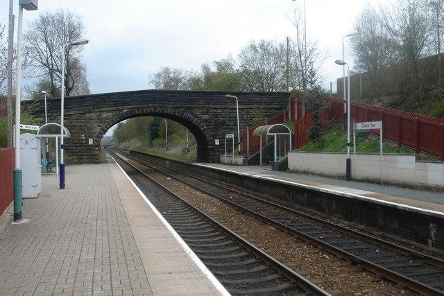 Cherry Tree railway station