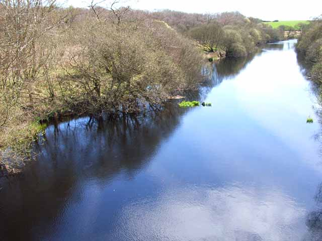 River Bladnoch from the A75