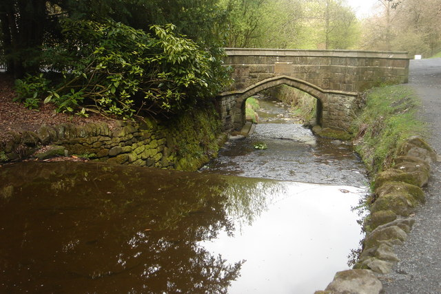 Bridge to Visitor Centre, Sunnyhurst Wood