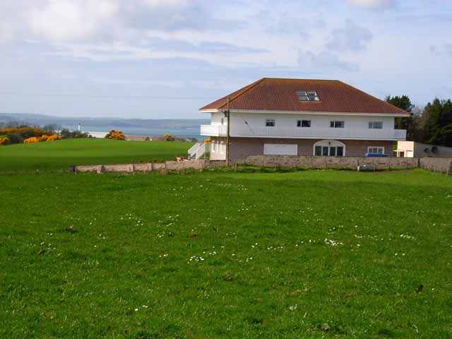 Modern house overlooking Loch Ryan