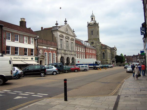 The Market Place, Blandford Forum