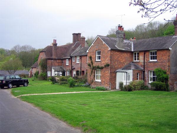 Dwellings in Bryanston Village