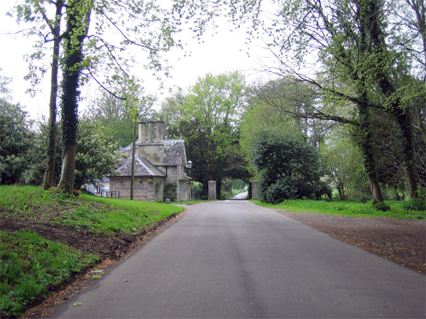 Lodge on Bryanston estate
