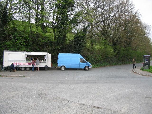 Catering van at Two Bridges