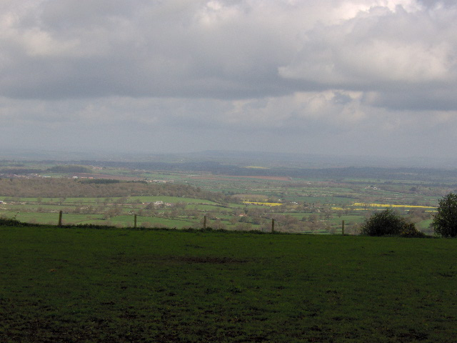 View from Okeford Hill