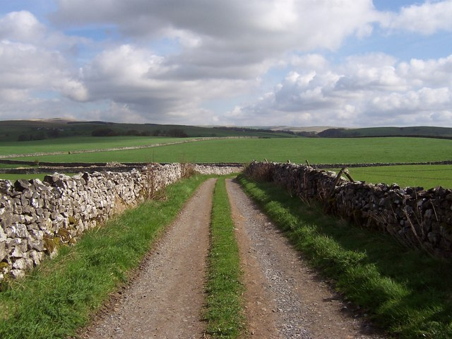 Track leading from the Gargrave/Airton Road