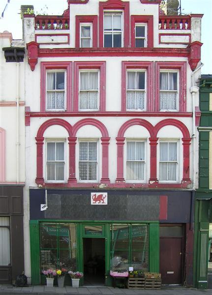 Florists shop, Caernarfon