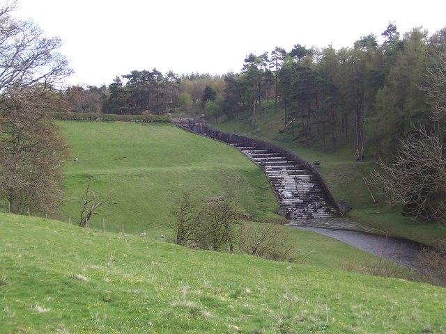 Dam of Winterburn Reservoir