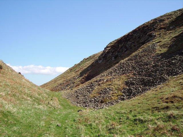 Below Lothian Edge