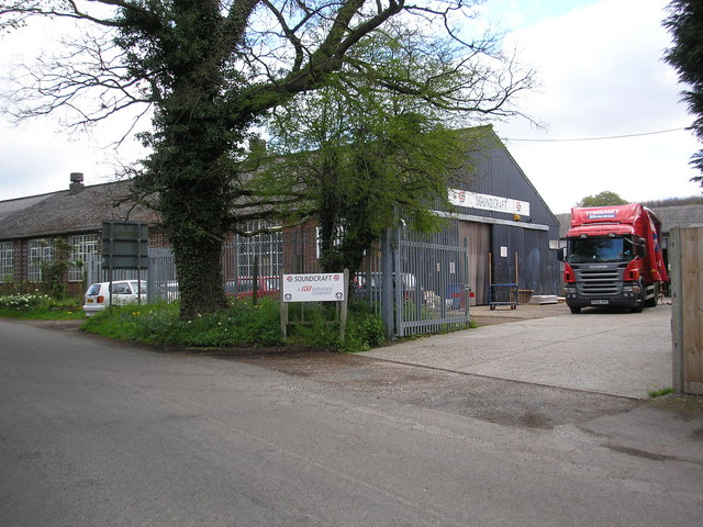 Soundcraft  factory,  Hewitt's Road, near Chelsfield, Kent