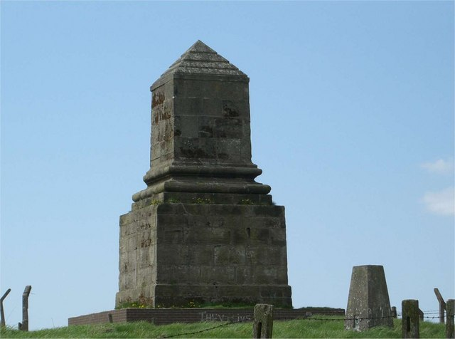 Wedgwood's Monument and Trig Point