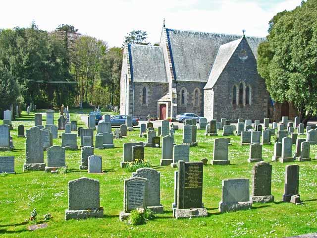 Inch Church near Castle Kennedy