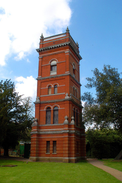 Orwell Park School Water Tower