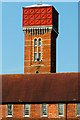 TM2851 : Melton Park Water Tower by Nat Bocking