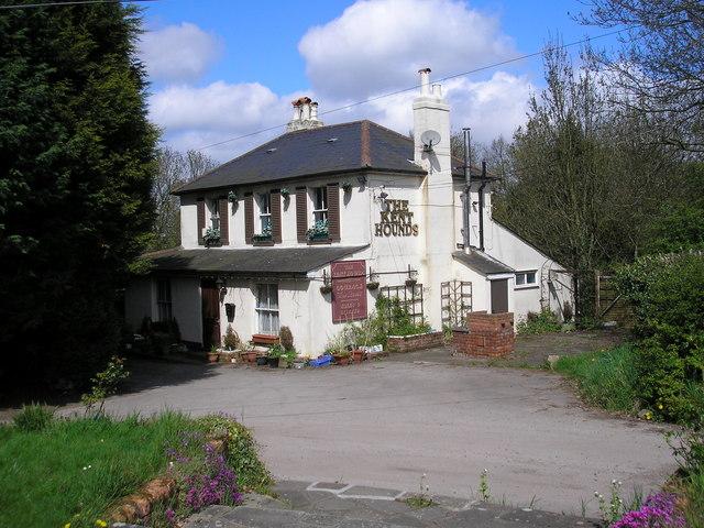 The 'Kent Hounds', Pump Lane, near Chelsfield, Kent