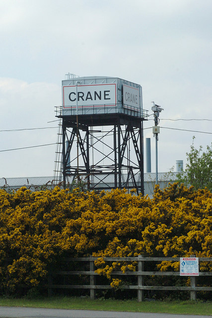 Crane Fluid Works Water Tower