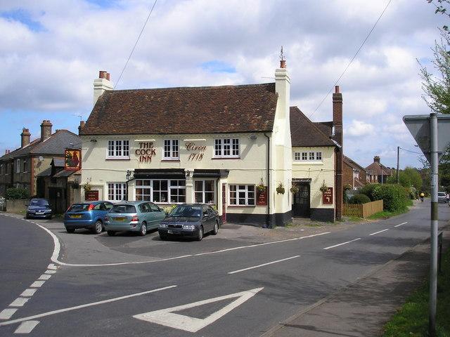 The 'Cock', Halstead, Kent