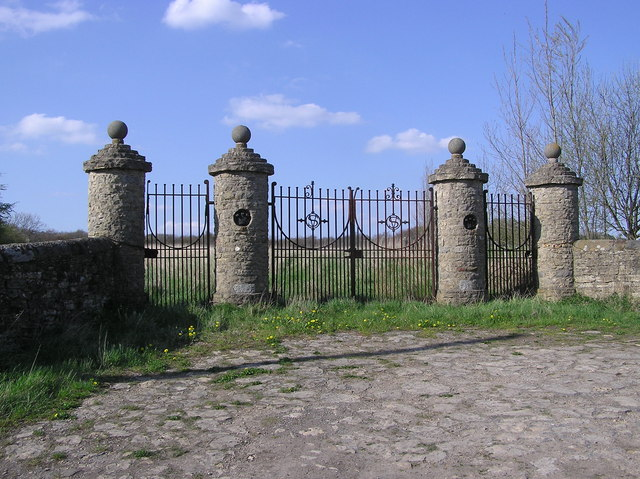 Gates to Redworth Hall