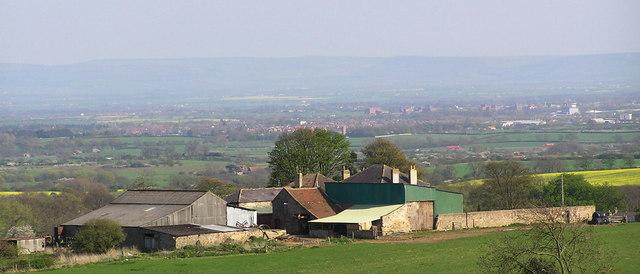 Haliwell Farm from Highside