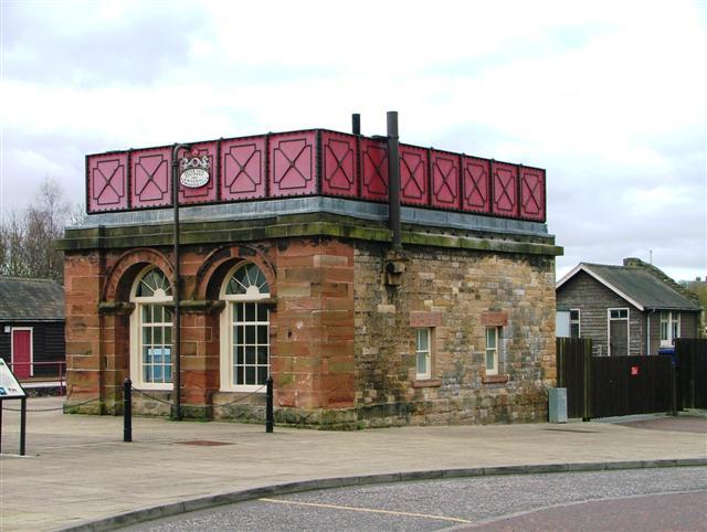 Water Tank, Haltwhistle Station