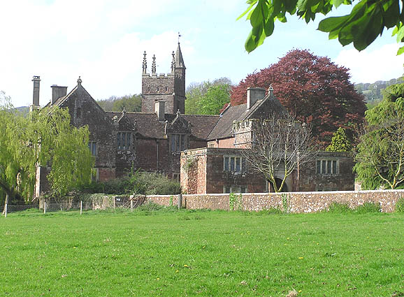Cothelstone Manor and church