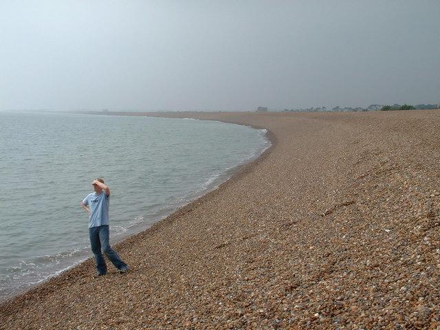 Shingle beach at Bawdsey, Suffolk.