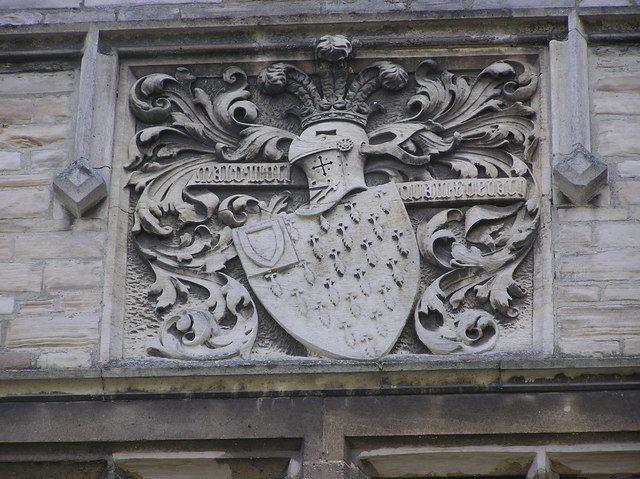 Surtees Coat of Arms : Redworth Hall.