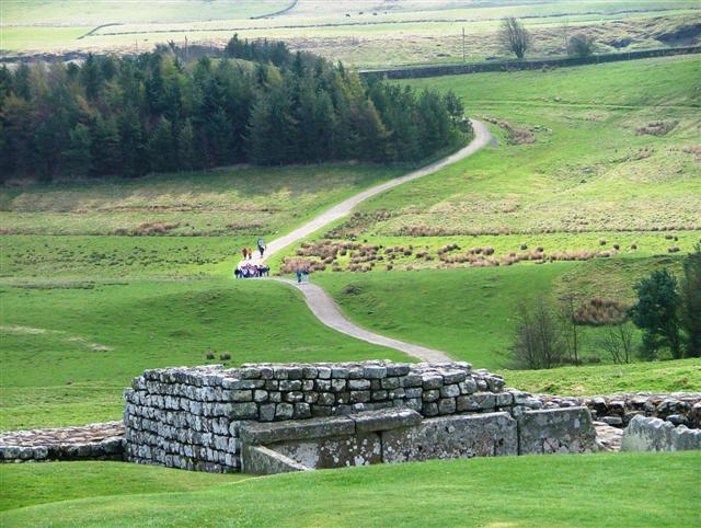 Access Path to Housesteads