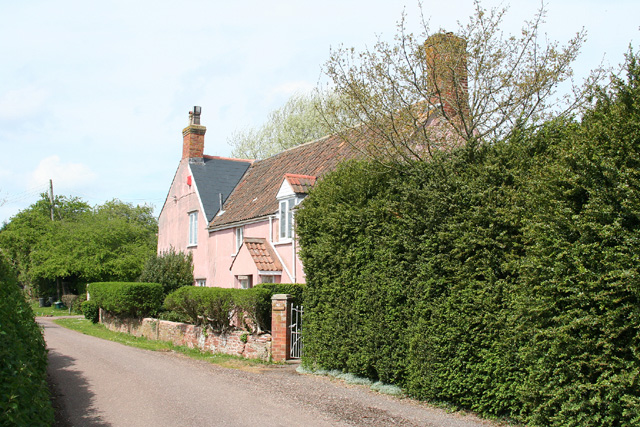 Oake: lane by The Old Rectory