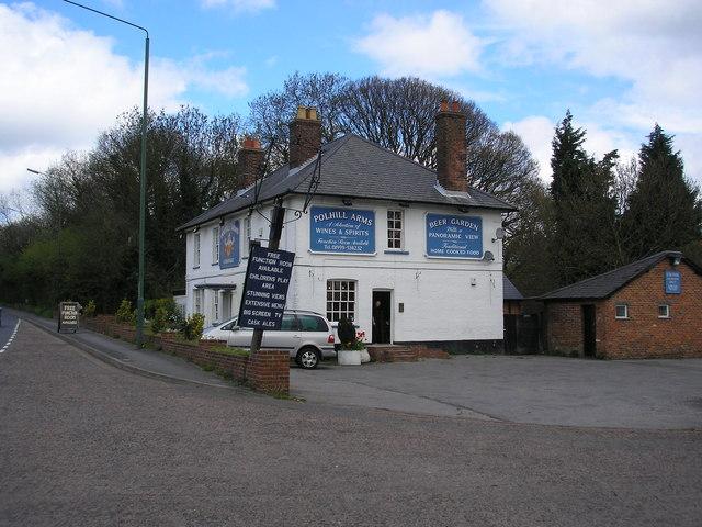 The 'Polhill Arms', near Halstead, Kent