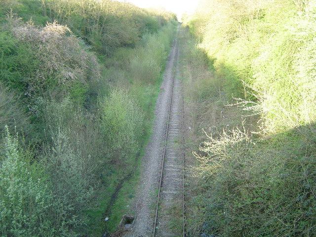 Winslow: Disused railway line
